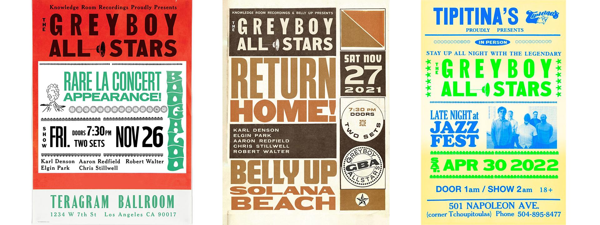 The Greyboy Allstars Tour Dates Flyer